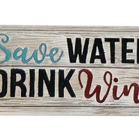 Home Decor-Save Water Table Decor Sign