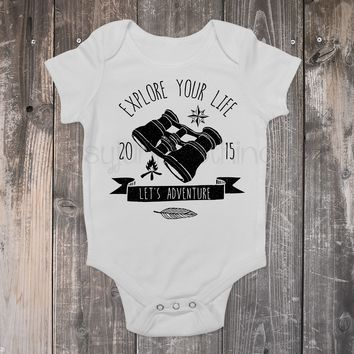 Explore Your Life - Camping/Outdoors Boho Baby Outfit