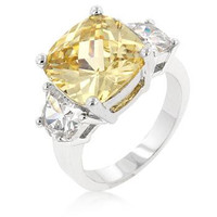Jonquil Triplet Ring, size : 08