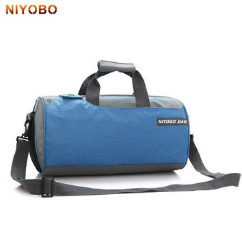 Waterproof Nylon Women Luggage Duffle Bags Large Capacity Carry On Men bucket bag Female Shoulder Travel Bag 4 Colors PT1274