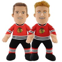 Bleacher Creatures Chicago Blackhawks Jonathan Toews & Patrick Kane Plush Player Set (Hwk Team)