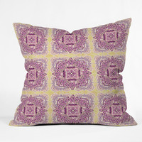 Ingrid Padilla Lacey Outdoor Throw Pillow