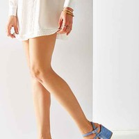 Gina Suede Strappy Heel