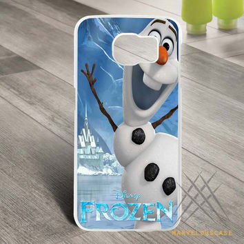 Disney Frozen Olaf Poster Custom case for Samsung Galaxy