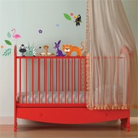 Jungle Animals Wall Decals