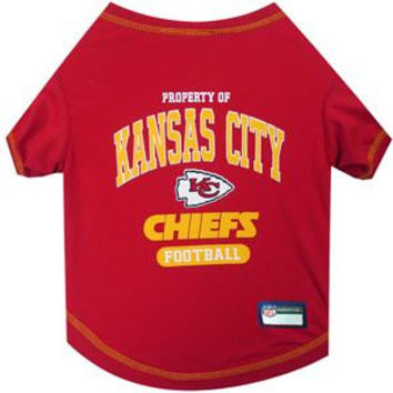 Kansas City Chiefs Pet Shirt SM