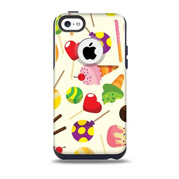 Delish Treats Color Pattern Skin for the iPhone 5c OtterBox Commuter Case