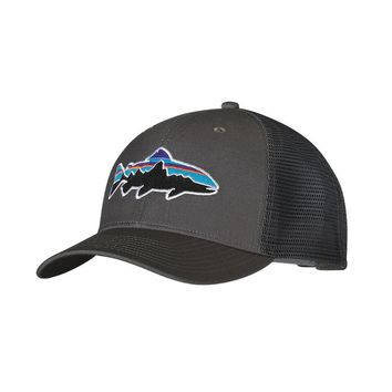 Patagonia Fitz Roy Trout Trucker Hat | Forge Grey