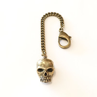 The Skull Keychain