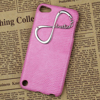 "Pink Hard Case Cover With One Direction ""Directioner"" Infinity for Apple Ipod Touch 5, iPod Touch 5th,iTouch 5,iPod Touch 5"