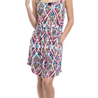 Eclectic Print Play Knit Dress