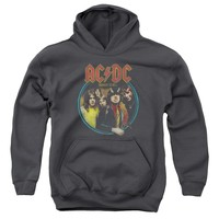 Acdc - Highway To Hell Youth Pull Over Hoodie