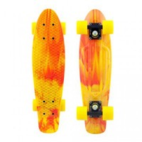 Penny Skateboards USA Penny Marble Yellow Red - PENNY MARBLES - SHOP ONLINE
