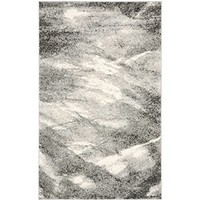 Safavieh Retro Collection RET2891-8012 Grey and Ivory Area Rug, 6 feet by 9 feet (6' x 9')