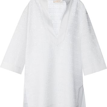Tory Burch 'Encitas' Broderie Anglaise Tunic
