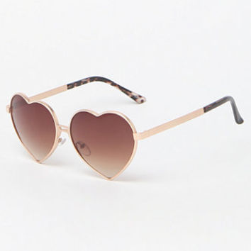b32223ba9d LA Hearts Metal Heart Sunglasses at from PacSun