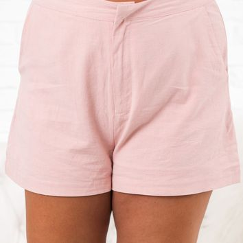 Curvy Floating On Air Shorts (Peach)