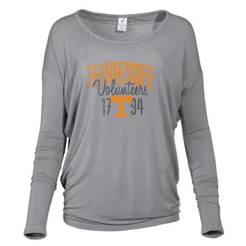 Official NCAA University of Tennessee Vols - 01AMFF13 Women's Loose Pico Top