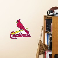 MLB St. Louis Cardinals Fathead Logo Decal