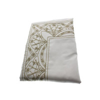 Martha Stewart Ornate Paisley Cotton Embroidered Pillow Sham Set