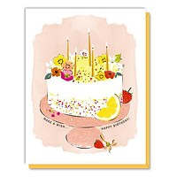 Lemon Cake Card
