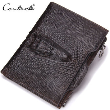 Men Wallet Leather Bags Vintage Purse [9026451331]