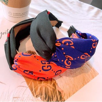 "Hot Sale ""GUCCI"" Fashionable Women Chic Knot Bee Hair Band Head Hoop Headband Accessories"