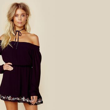 Zahara Off Shoulder Dress