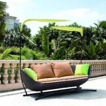Garden feeling outdoor furniture rattan patio daybed