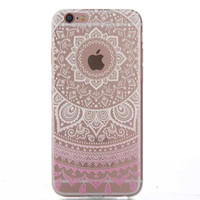 Womens Hollow Out Case Cover for iPhone 5s 5se 6s Plus Free Gift Box 43