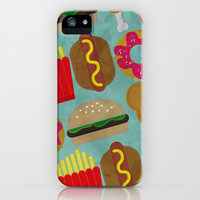 Fast Food iPhone & iPod Case by Karla Buttons
