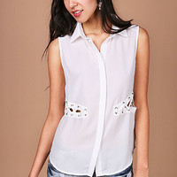 Maiden Cut Out Blouse