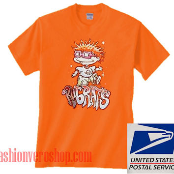 Rugrats Chuckie Finster Orange Unisex adult T shirt