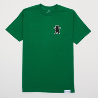 OG Outline Bear Tee in Kelly Green