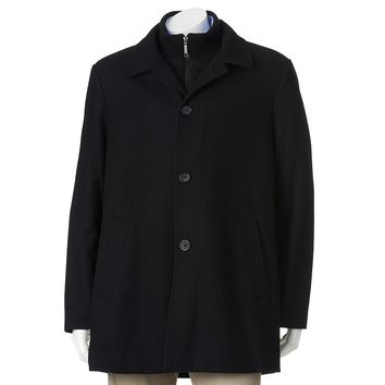 Billy London Slim-Fit 34-in. Wool-Blend Car Coat