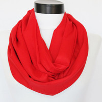 red scarf,Infinity scarf, pashmina scarf,boho scarf,long scarf,infinitys scarf. Loop scarf,Circle scarf. Women Scarf,Scarves,scarf (PS-14)