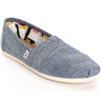 Toms Classic Blue Chambray Women's Shoes
