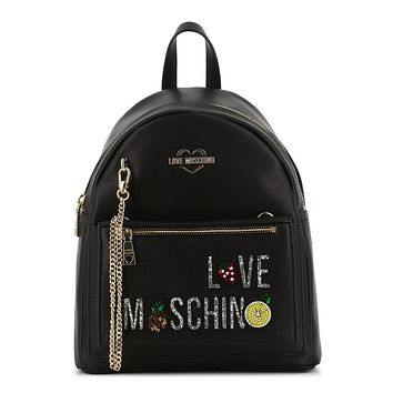 Love Moschino Women Black Rucksacks