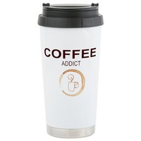 COFFEE ADDICT MUG STAIN Travel Mug