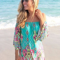 Woman Bohemian Style Sexy Beach Dress