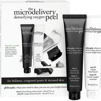 philosophy microdelivery detoxifying oxygen peel Auto-Delivery — QVC.com