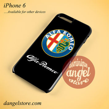 Alfa Romeo Logo Phone case for iPhone 6 and another iPhone devices
