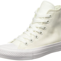 Converse Unisex Chuck Taylor All Star II Hi White/Navy Basketball Shoe