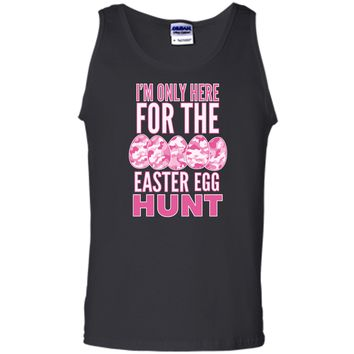 Easter Egg Hunt Shirt Pink Camouflage The Hunt Is On Tee Tank Top