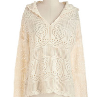 Mid-length Long Sleeve Just Comes Neutrally Sweater
