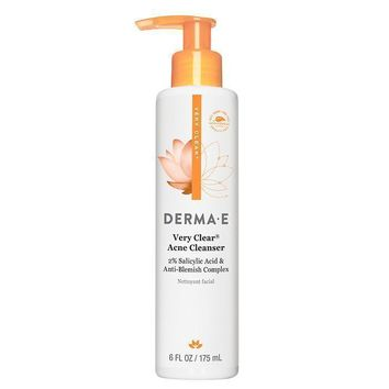 Derma E Very Clear Acne Cleanser - 6 fl oz