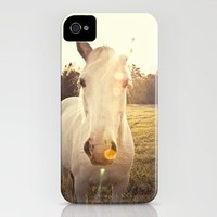 Sunlit Horse iPhone Case by Erin Johnson | Society6