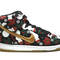 Nike Dunk SB High Concept Ugly Sweater Black
