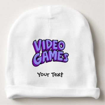 Video Games Gaming Baby Beanie