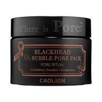 Premium Blackhead O2 Bubble Pore Pack - Caolion | Sephora